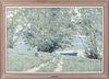 Andre Gisson Impressionist Landscape Oil on Canvas