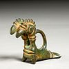 Ancient Luristan animal figural bronze