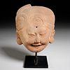 Pre-Columbian Sonriente head, ex-Mathias Komor