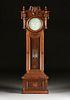 AN E. HOWARD & CO. ASTRONOMICAL REGULATOR FLOOR STANDING WALNUT CLOCK, NO. 48, BOSTON, CIRCA 1870,