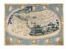 """A RENAISSANCE MAP, """"Ptolemy Map of the World (Die Weltkarte des Ptolemäus),"""" ULM AND ARMSHEIM, 1482,"""