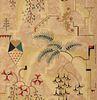 """Modernistic"" Wallpaper, designed by CHARLES EPHRAIM BURCHFIELD (American, 1893-1967)"