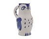 PABLO PICASSO, (Spanish, 1881-1973), Hibou (AR 253), earthenware ceramic pitcher, height: 9 3/4 in.