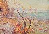 MAX KUEHNE, (American, 1880-1968), Landscape, oil on board, 14 x 20 in.
