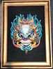 Early 20th C. Chinese Pottery Dragon Plaque