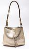 Maison Margiela Metallic Gold Leather Handbag