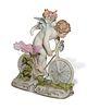 Meissen, Cupid on Bicycle, Model T6