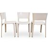 (6 Pc) Giancarlo Vegni For Fasem Leather Chairs