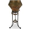 19th Ct. Bronze Plant Stand