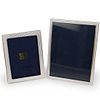 (2 Pc) Siena Sterling Silver Picture Frames