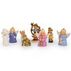 (8 Pc) Goebel Porcelain Figurine Collection