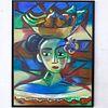 Samuel Navedo (Cuban, 20th Century) Oil Painting