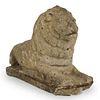 19th Ct. Stone Lion Statue