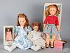 Four miscellaneous dolls