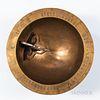Silver-inlaid Bronze Sundial, Angbu-ilgu