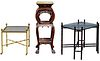 Asian Style Table and Shelf Assortment