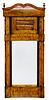 Biedermeier Satinwood Mirror