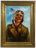 John Bradshaw Crandell (American, 1896-1966) Oil on Canvas Board