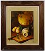J. Perrier (French, 20th Century) Oil on Canvas