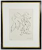 Marc Chagall (Russian / French, 1887-1985) 'Isaiah Divinely Inspired' Lithograph