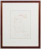 (Attributed to) Salvador Dali (Spanish, 1904-1989) 'Elephant' Etching