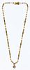 Ron Ray 14k Gold and Pearl Necklace