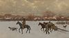 Henry Farny (1847-1916); Nomads (1902)