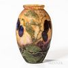 Attributed to Daum Cameo Glass Vase