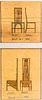Giclee Print of Two Charles Rennie Mackintosh Chair Designs