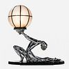 Ronson Art Deco Figural Table Lamp