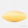 George Nelson (1908-1986) for Howard Miller Saucer Bubble Pendant Light