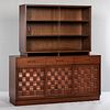 Edward Wormley (1907-1995) for Dunbar Woven-front Sideboard with Hutch