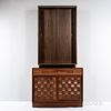 Edward Wormley (1907-1995) for Dunbar Woven-front Server with Hutch