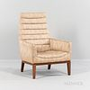 "Edward Wormley (1907-1995) for Dunbar ""Model 5961"" High-back Lounge Chair"