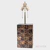 Brutalist Copper-clad Table Lamp