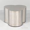 Curtis Jeré for Artisan House Chromed Trefoil Table Base