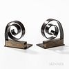Pair of Walter Von Nessen (1889-1943) for Chase Bookends