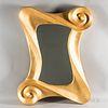 Lawrence de Martino 24kt Gold-leaf Mirror