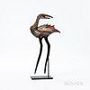 William Morris (American, b. 1957) Art Glass Sculpture