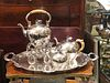 4 Piece Austro- Hungarian Partial Silver Tea set