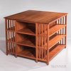 Thomas Moser Custom-built Library Table and Bookcase