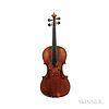 Austrian Violin, Jacob Petz, Vils, c. 1814