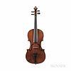 English Violin, Alfred Warrell, Deal, c. 1930