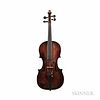 German Violin, 19th Century