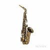 Alto Saxophone, Selmer Mark VI, 1958