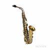 Alto Saxophone, C.G. Conn 6M Transitional, 1933
