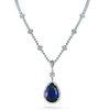 48.65ct Tanzanite And 15.75ct Diamond Necklace