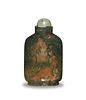 Chinese Agate Snuff Bottle, 19th Century