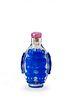 Chinese Blue Peking Glass Snuff Bottle, 18th Century