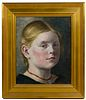 Unknown Artist (American, 20th Century) Portrait Oil on Board